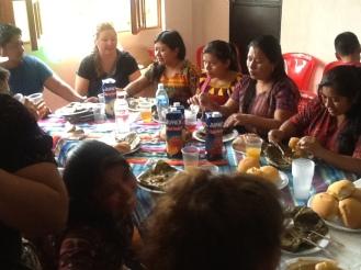 Friends of La Casa dining